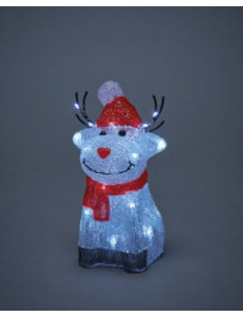 Perfect Christmas Light Up Rudolph by Aldi