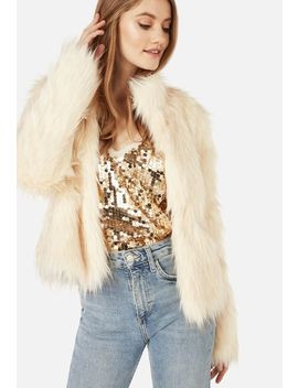 Faux Fur Jacket Vip Membership Program by Justfab