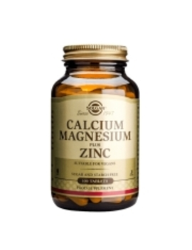 Solgar Calcium Magnesium Plus Zinc 100 Tablets by Solgar Calcium Magnesium Plus Zinc 100 Tablets