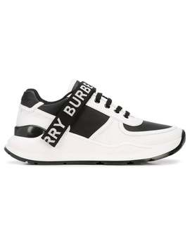 Burberry          Logo Tape Sneakers by Burberry