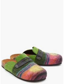 Felt Loafer Mules by Jw Anderson