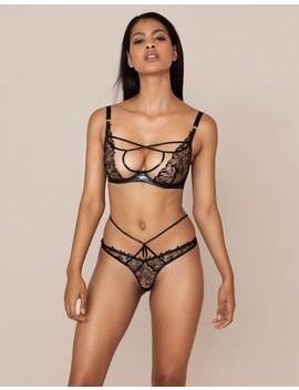 Ozella Thong by Agent Provocateur
