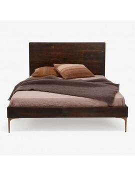 Core Dark Oak Bed Bronze by Abc Home