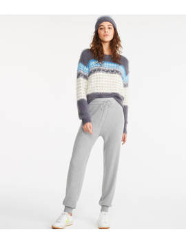Ribbed Sweater Joggers by Lou & Grey