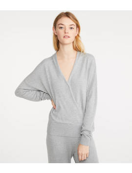 Crossover Sweater by Lou & Grey