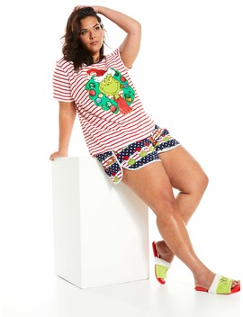 P.A. Plus Grinchmas Tee by Peter Alexander