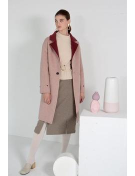 Elsa Wool Coat   Rose & Pink by Petite Studio