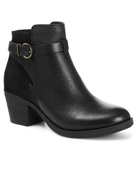 Heeled Leather Ankle Boot by Jones Bootmaker