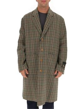 Gucci Single Breasted Houndstooth Coat by Gucci Gucci