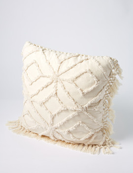 Tilly@Home Arabella Cushion, Ivory by Farmers