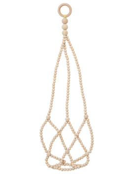 Tilly@Home Zen Beaded Hanging Plant Holder by Farmers