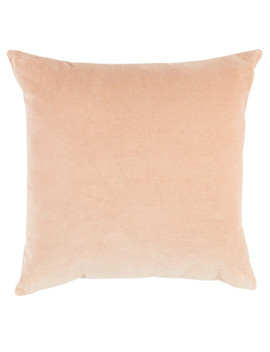 Tilly@Home Cotton Velvet Cushion, Blush, 50x50cm by Farmers