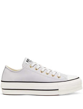 Chuck Taylor All Star Platform Nubuck Low Top by Converse