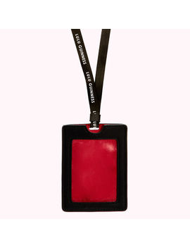 Heart And Stripes Lanyard by Lulu Guinness