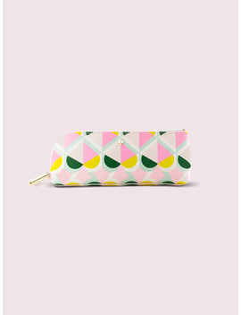 Geo Spade Pencil Case by Kate Spade