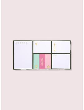 Colorblock Sticky Note Set by Kate Spade