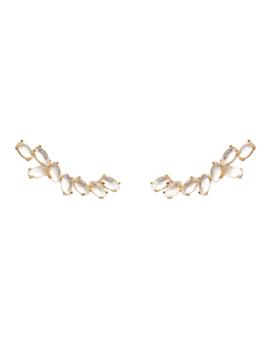 Grand Safari Gold Earrings by P D Paola