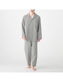 Side Seamless Double Gauze Pajama by Muji