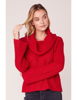 Love Actually Cowl Neck Sweater by Bb Dakota