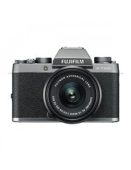 Ted's Cameras Fujifilm X T100 + Xc 15 45mm   Silver by Ted's