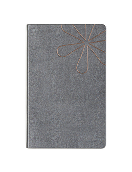 Shimmer Charcoal Softbound Notebookviewed by Erin Condren