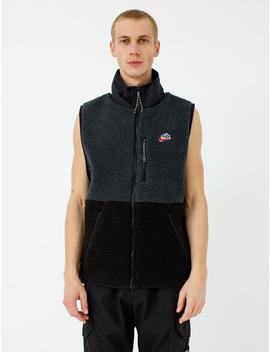 Zip Up Fleece Vest by Nike