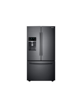23 Cu. Ft. French Door Refrigerator In Black Stainless Steel by Samsung
