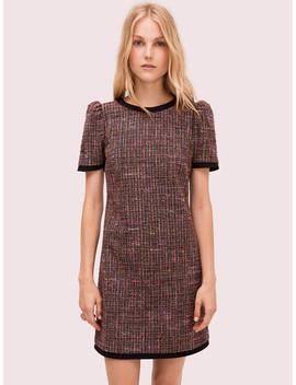 Puff Sleeve Tweed Dress by Kate Spade
