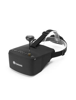 Eachine Ev800 5 Inches 800x480 Fpv Goggles 5.8 G 40 Ch Raceband Auto Searching Build In Battery by Eachine