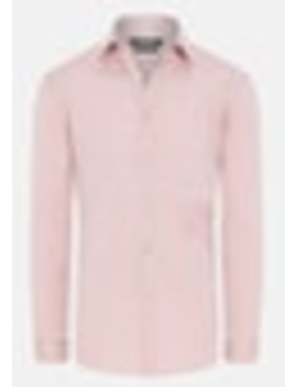 Dusty Pink Cyrus Slim Dress Shirt by Connor