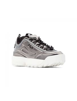 Fila Disruptor M Low Wmn Gun Metal by Fila