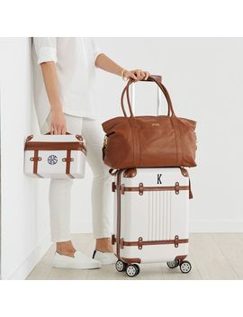 Terminal 1 Carry On, White by Mark & Graham