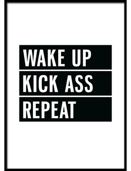 Wake Up Poster by Desenio