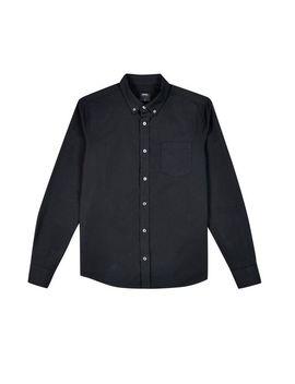Black Long Sleeve Oxford Shirt by Burton