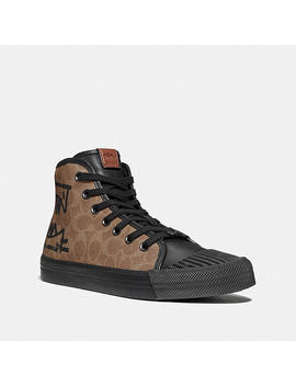 C211 High Top With Rexy By Guang Yu by Coach