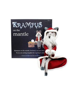 Krampus On The Mantle by Fye