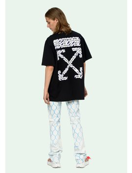 Airport Tape S/S Over T Shirt by Off White