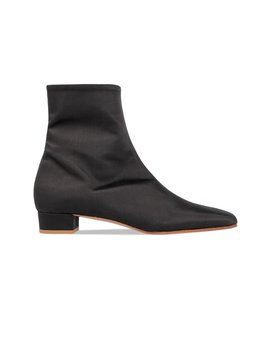 Este Boot Black Silk by By Far
