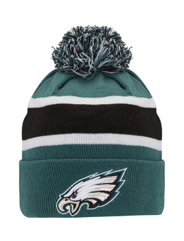 New Era Mens Eagles Cuff Beanie by New Era