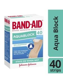 Aqua Block Waterproof Strips by Band Aid