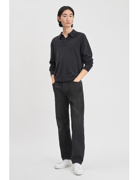Knitted Polo Shirt by Filippa K