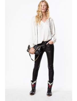 Theresa Satin Tunic by Zadig & Voltaire