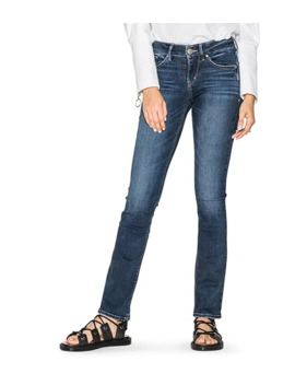 Women's Avery Slim High Rise Boot Cut Jeans by Silver® Jeans Co.