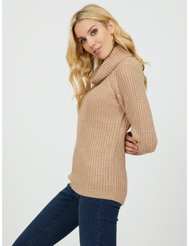 Long Sleeve Turtleneck Sweater by Suzy Shier