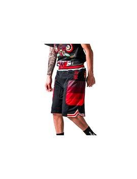Nike X Clot Nrg Mesh Shorts   Black / University Red / White by Politics