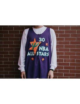 Mitchell & Ness All Star '95 Scottie Pippen Reversible Mesh Tank   Purple/White by Politics