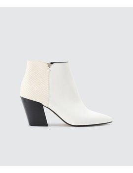Aden Booties In Whiteaden Booties In White by Dolce Vita