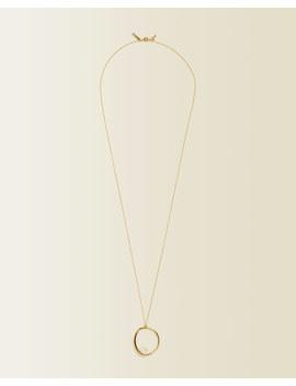 Pearl Circle Pendant by Jigsaw