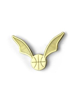 Potterless Basketball Snitch Enamel Pin by Potterless