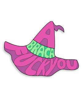 Abraca Fuck You Decal by Mc Elroy